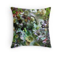 Symbiotic Harmony Throw Pillow