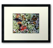 Symbiotic Reef Framed Print