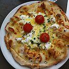 Pizza Bianca Al Pomodoro by Team Bimbo