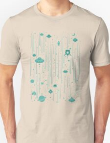 UFO all around Unisex T-Shirt