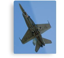 Gear down, ground bound! Metal Print