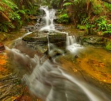 Top Falls At leura by donnnnnny