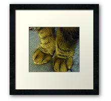 Bless My Furry, Fat Legs Framed Print