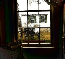 View through a Country Window by ArtbyDigman