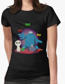 Trap Door. Womens Fitted T-Shirt