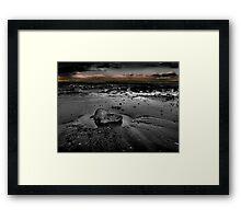 Sand Bay #2 Framed Print