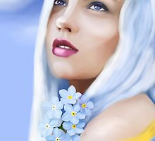 Forget me not Fae by TriciaDanby