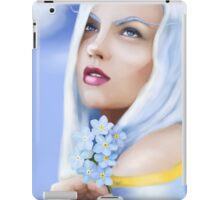 Forget me not Fae iPad Case/Skin