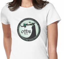OTBS dancer in green Womens Fitted T-Shirt