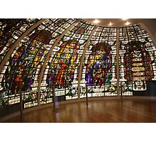 Stained Glass Windows Photographic Print