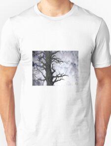 Dark Tree [Pen and Digital Illustration] Unisex T-Shirt