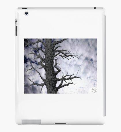 Dark Tree [Pen and Digital Illustration] iPad Case/Skin
