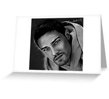 Jay Ryan Greeting Card