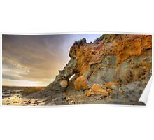 Elephant rock Kilcunda beach Poster