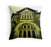 Post Office - Newbury Throw Pillow