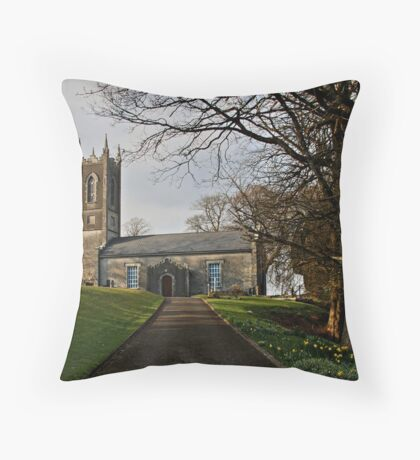Church on Sunday Throw Pillow
