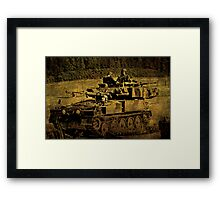 The Brave Framed Print