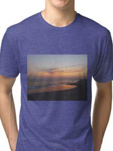 Beautiful Sky On The Beach Tri-blend T-Shirt