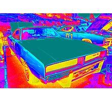 Glow Cars Photographic Print