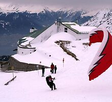 Paraglider, Innsbruck by SoulSparrow