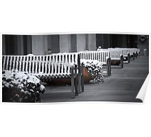 Lonely Benches Poster