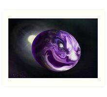 mad earth-a devious planet.  Art Print