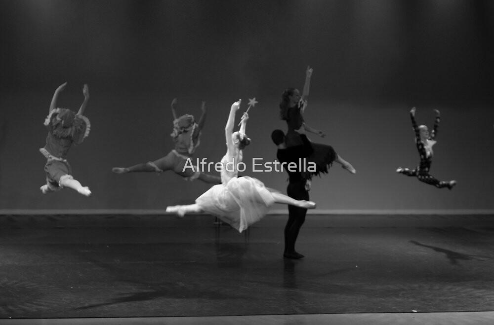 Group Jete by Alfredo Estrella