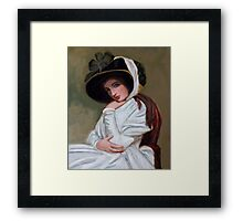 Emma Hamilton after George Romney Framed Print