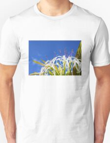 Hymenocallis flower - Wallygroom Spider Flower Unisex T-Shirt