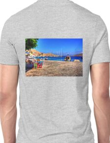 Coloured Tables and Chairs Unisex T-Shirt