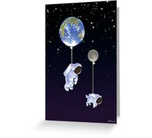 Spaceboy Greeting Card