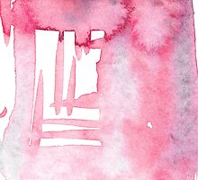 baby pink brushstrokes by MartinaC