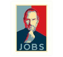Steve Jobs Poster Art Print