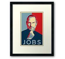 Steve Jobs Poster Framed Print