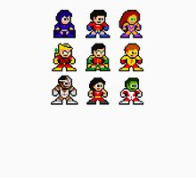 8-bit Classic Teen Titans Unisex T-Shirt