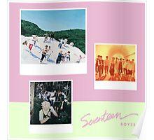 SEVENTEEN - BOYS BE. Poster