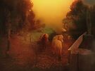 Misty Sundown by Elaine Teague