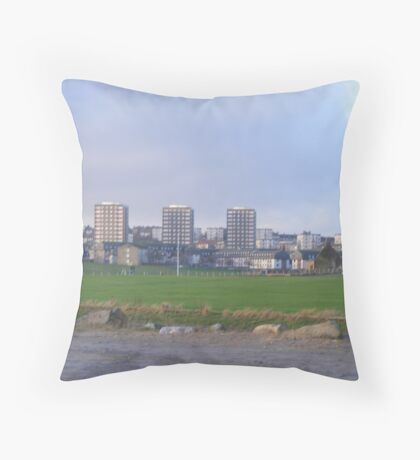 a look upon torry Throw Pillow