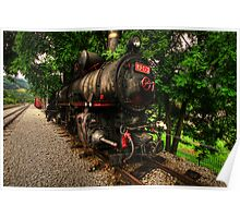 Steam Train, Serbia,HDR Poster