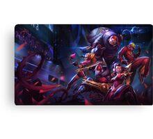SKT T1 Zed - League of Legends Canvas Print