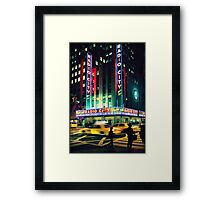 Radio City... Framed Print