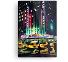 Radio City... Metal Print