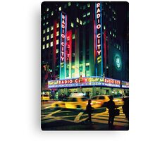 Radio City... Canvas Print