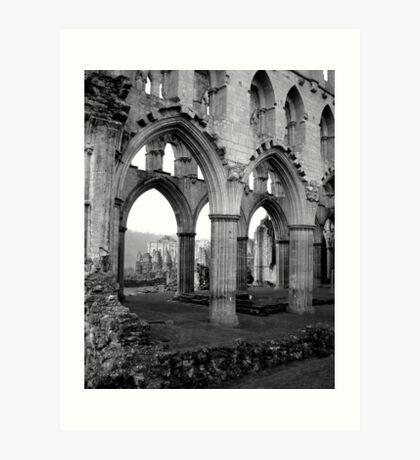 Rievaulx Abbey Art Print