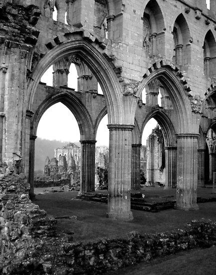 Rievaulx Abbey by yankeehal