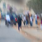 Street abstract photo by Gili Orr
