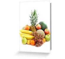 Fruit arrangement Greeting Card