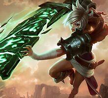 Riven - League of Legends by sinaki