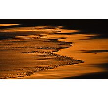 Golden Shores Photographic Print