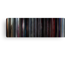 Moviebarcode: 2001: A Space Odyssey (1968) Canvas Print